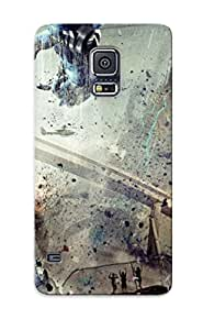 Galaxy S5 Hard Back With Bumper Silicone Gel Tpu Case Cover For Lover's Gift Pacific Rim