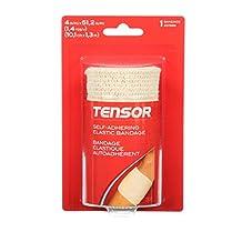 Tensor Self-Adhering Elastic Bandage Wrap, 2-Inch, Beige