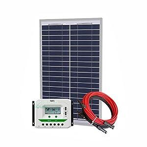Unlimited Solar 50 Watt 12 Volt Off-Grid Solar Panel Kit - P3 Series