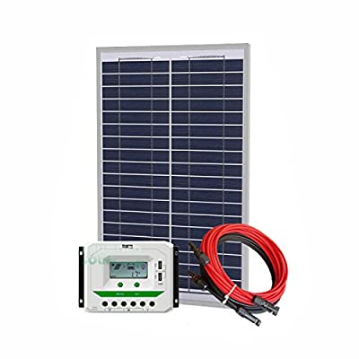 Unlimited Solar 50 Watt 12 Volt Off-Grid Solar Panel Kit - P3 Series