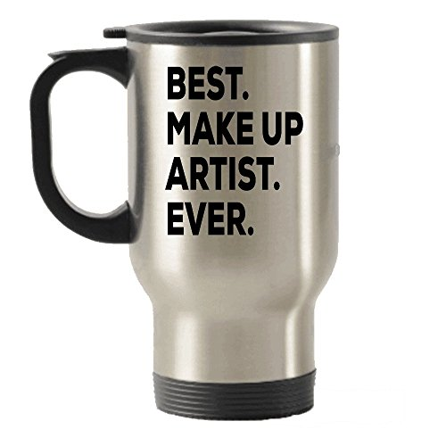 - Best Makeup Artist Ever Travel Mug - Travel Insulated Tumblers - Make Up Artist Gift - Makeup Artist Gifts For Artist - MUA Ideas - Inexpensive Under $20 Or Add To Gift Bag Basket Box Set