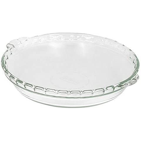 Pyrex Bakeware 9-1/2-Inch Scalloped Pie Plate,
