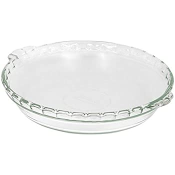Pyrex Bakeware 9-1/2-Inch Scalloped Pie Plate Clear  sc 1 st  Amazon.com : 12 inch pie plate - pezcame.com