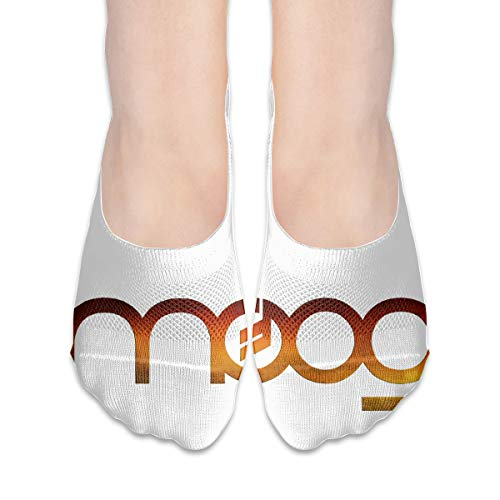 XCFBD Moog Synth Logo Best Comfy Casual Low Socks For Women