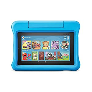 All-New Fire 7 Kids Edition Tablet, 7″ Display, 16 GB, Kid-Proof Case