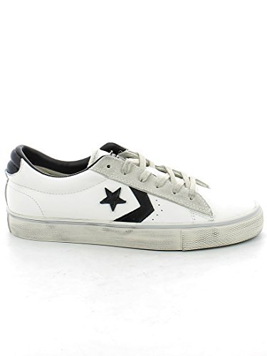 Zapatillas Vulc vaporous Grey Ox star 100 Distressed Leather black Converse Pro Multicolor White Hombre Lifestyle Para BwqYFFA