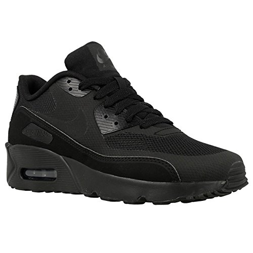 Nike Youth Air Max 90 Ultra 2.0 Black Mesh Trainers 35.5 EU by NIKE