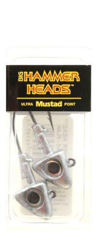 Big Hammer Jig Head with 4/0 Hook, Plain, 3/4-Ounce