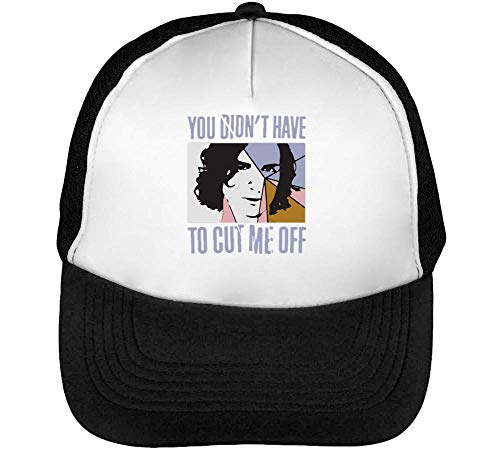 You Didn'T Have To Cut Off Gorras Hombre Snapback Beisbol Negro Blanco