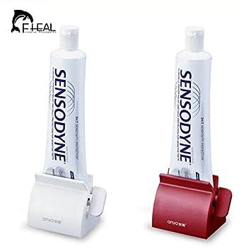Generic rojo: fheal nuevo cuarto de baño Set de accesorios para tubo de pasta de