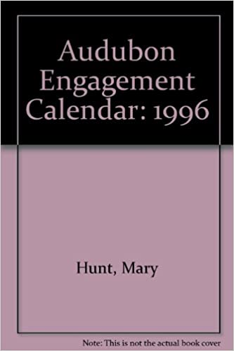Audubon Engagement Calendar 1996 9781885183248 Amazon Com Books