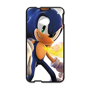 HTC One M7 Cell Phone Case Black Sonic Video Game N1D1OG