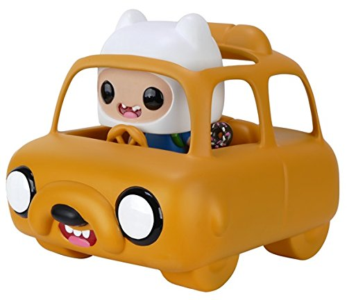 Funko Pop Rides: Adventure Time-Jake Car & Finn Action Figure