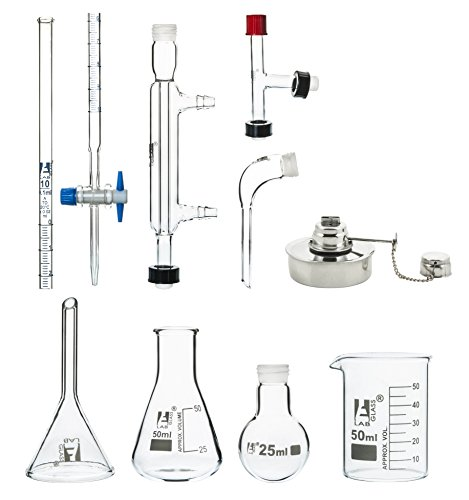 25ml Micro Glass Distillation Kit - 9 Pieces - Eisco for sale  Delivered anywhere in USA