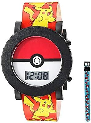 Pokemon Boy's Quartz Plastic Watch, Color:red (Model: POK4049) from Poker Master Publishing Ltd. 1269771232