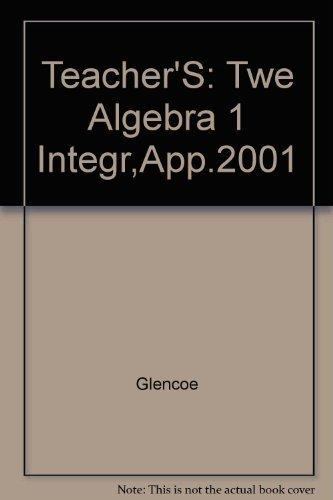 Glencoe Algebra 1 Teacher's Wraparound Edition