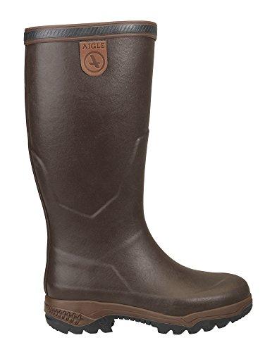 Aigle Parcours 2 Excellence, Stivali di Gomma da Lavoro Uomo Marrone (Brun 001)