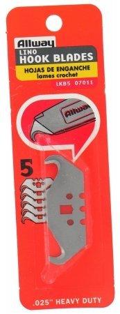 Allway Tools Lkb5 5 Count Linoleum Hook Blades by AllwayTools (Image #1)