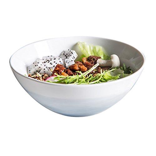 Ceramic Bowl Creative Small Tableware Large Rice Bowl Soup Bowl Big Bowl Mountain River bowl ()