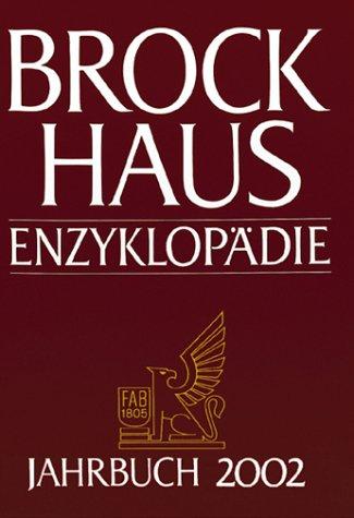 Brockhaus Enzyklopädie. Jahrbuch 2002. Berichtszeitraum 1.1. bis 31.12.2002. PDF
