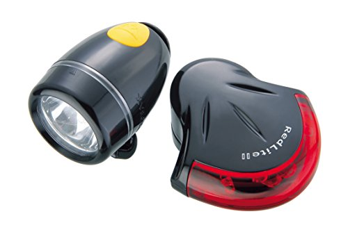 Topeak HighLite Aero Combo Light Set, - Topeak Combo Highlite