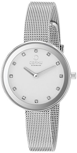 Obaku Women's V161LXCIMC Analog Display Analog Quartz Silver Watch