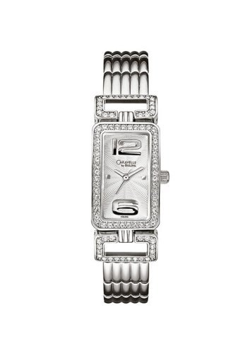 Caravelle by Bulova 43L005 Ladies Stainless Steel Crystal Watch