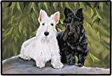 Scottie Scottish Terrier Scotty Dog Designer Indoor Outdoor Doormat Rug Mat