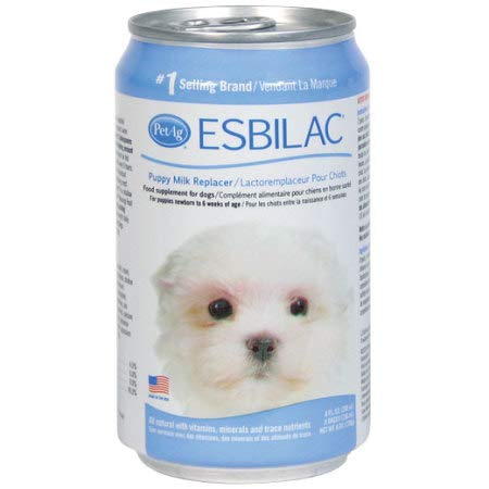 (Esbilac Liquid Milk Replacer for Puppies & Dogs, 8oz Can, 4-Pack )