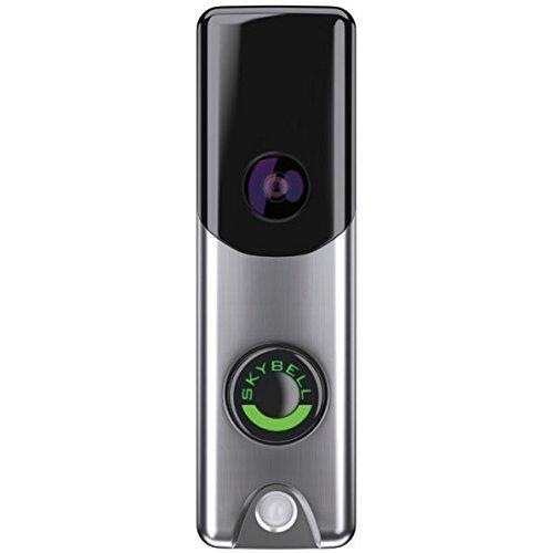 Alarm.com Skybell Slim Line Doorbell Camera (Silver) 8' Two Way Plate