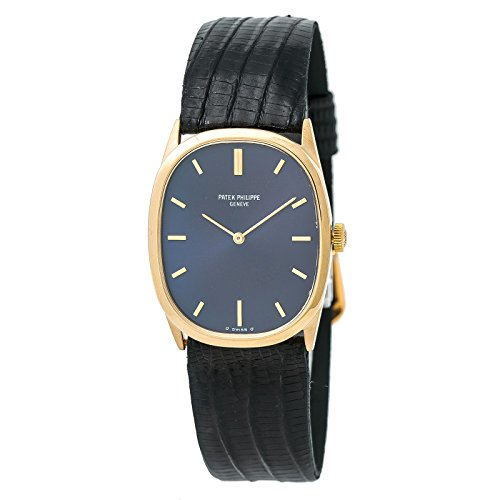 Patek Philippe Ellipse mechanical-hand-wind mens Watch 3746 (Certified Pre-owned) (Philippe Patek Gold Dial)