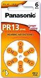 Panasonic Pack de 60piles pour prothèse auditive PR13