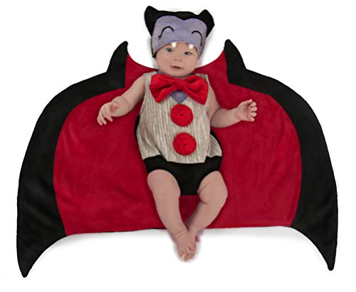 Princess Paradise Baby Swaddle Wings Drooly Drac Deluxe Costume, 0 to 3 Months -