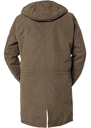 JOOP! Herren Mantel Mikrofaser Warme Jacke Unifarben, Größe: L, Farbe: Grün