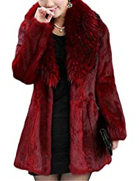 Amazon.com: Reds - Fur & Faux Fur / Coats, Jackets & Vests ...
