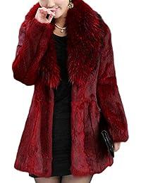 Amazon.com: Reds - Fur & Faux Fur / Coats, Jackets & Vests ...