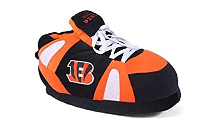 Happy Feet & Comfy Feet - Officially Licensed Mens and Womens NFL Sneaker Slippers