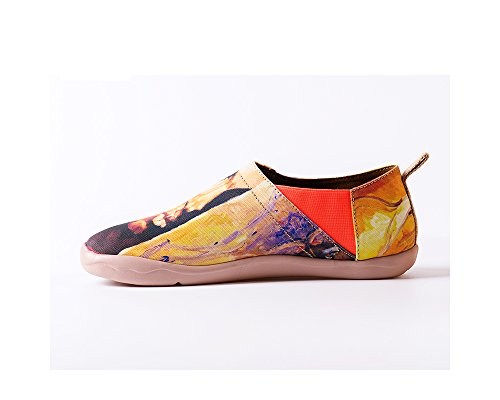 Uin Heren Afrika Serie Canvas Loafer Schoen Geel