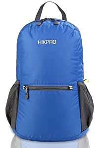 Hikpro 20L Ultra Lightweight Packable backpack +Most Durable Waterproof Hiking Daypack - 6.5Oz Only