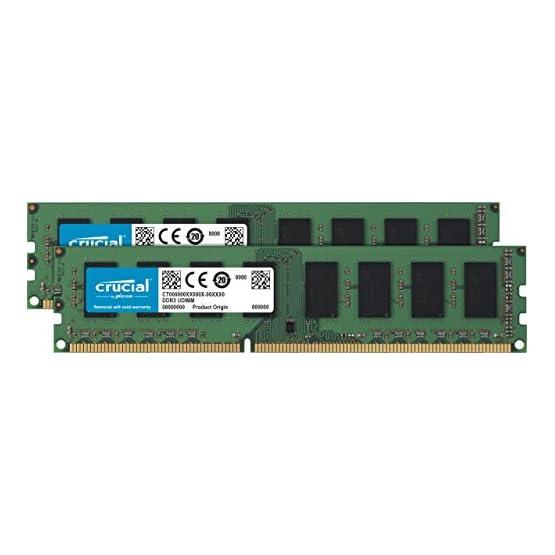 Crucial RAM 8GB Kit (2x4GB) DDR3 1600 MHz CL11 Desktop Memory CT2K51264BD160B 41QZCWM4lbL. SS555