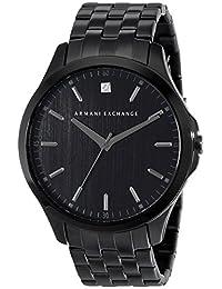 Armani Exchange Men's AX2159 Analog Display Analog Quartz Black Watch