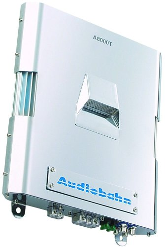 Audiobahn Car - Audiobahn Mono-Channel Amplifier (A8000T) (A8000T)