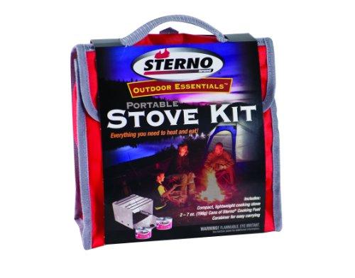 Sterno Outdoor Overnight Stove Kit, Outdoor Stuffs