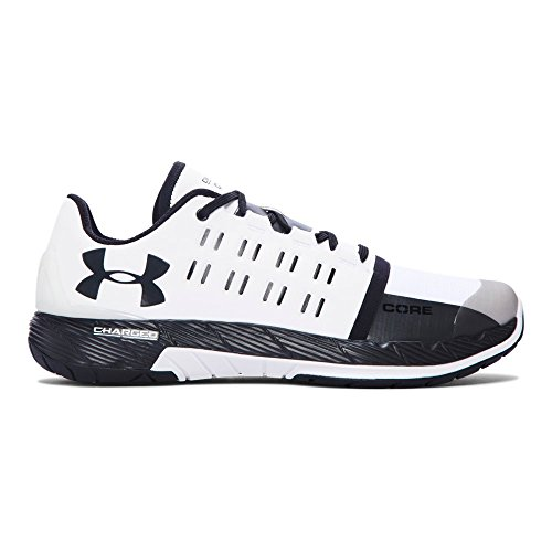 Cheap Under Armour Men's UA Charged Core White/Black/Black Sneaker 11 D (M)