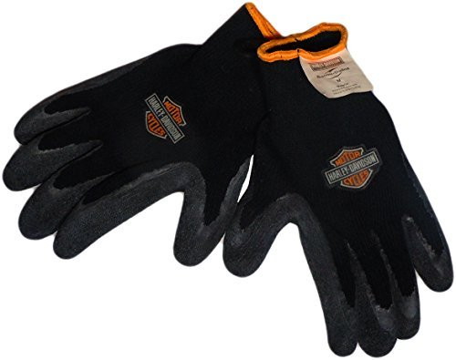 Harley-Davidson Rubber Knit Gloves (Medium) ()