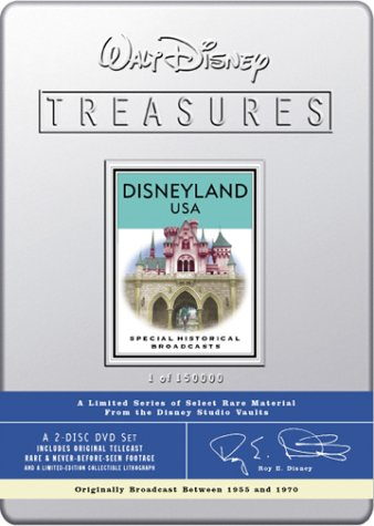 Walt Disney Treasures - Disneyland USA (Disney Treasures Annette)