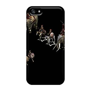 MarieFrancePitre Iphone 5/5s Bumper Cell-phone Hard Covers Unique Design High-definition Oasis Band Series [LCN19056UaDo]