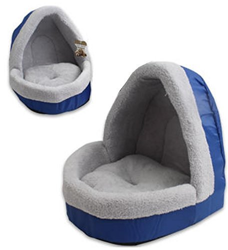 Pet Bed With Dome Soft and Warm Comfortable Material Small to Medium Dogs and Cats Review