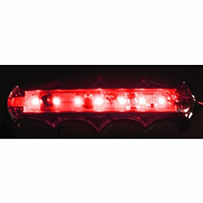 Pilot CZ-209B LED Theft Deterrent/Auxiliary Light Scanner - Red Light - for Decorative Car Sedan SUV and Truck Interior Ambiance Lighting: Automotive