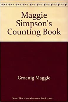 Book Maggie Simpson's counting book